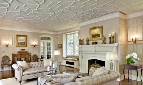 Плиточный потолок