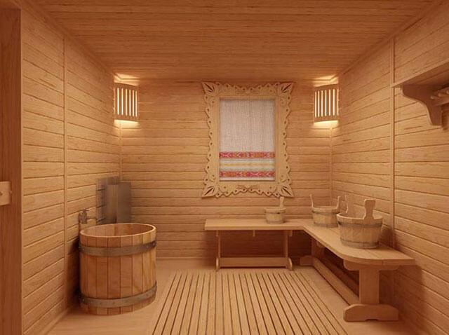 Как сделать пол в помывочной бани