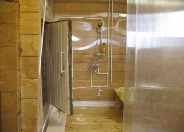 Перегородка в бане между парилкой и мойкой: фото, как сделать