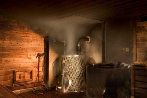 Печи на дровах для бани: чугунные, подовые, из талькохлорита