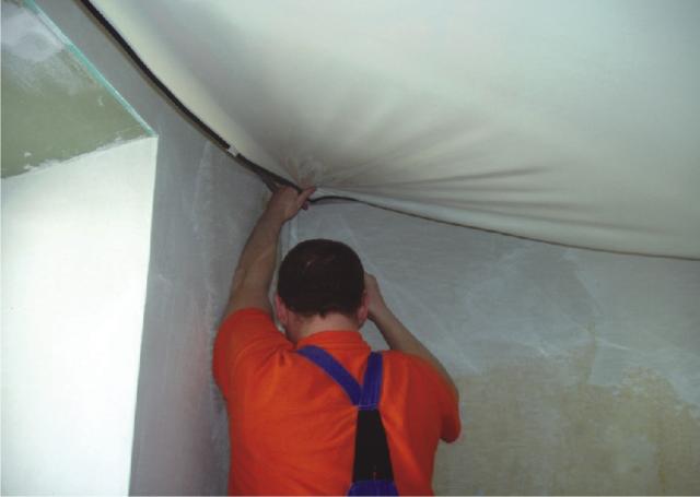 Парящий натяжной потолок: фото и отзывы
