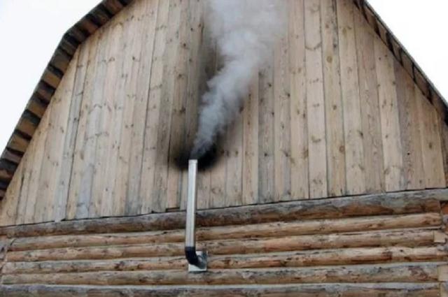 Как сделать дымоход в бане