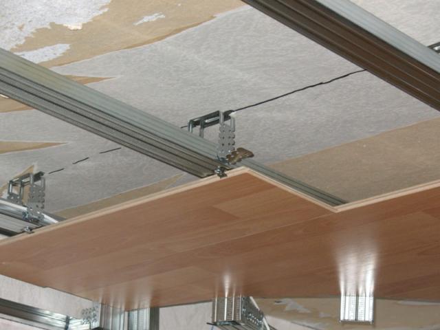 Отделка потолка - варианты в квартире