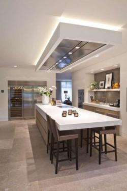 Двухуровневые потолки из гипсокартона: фото гостиной, спальни, кухни