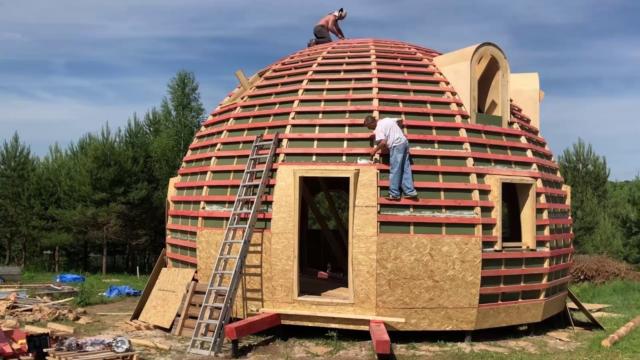 Купольная баня