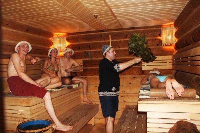 Как правильно париться в бане с веником