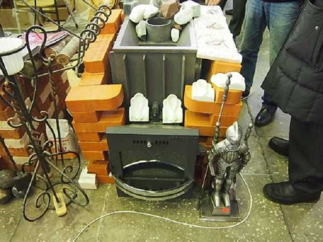 Чугунная банная печь