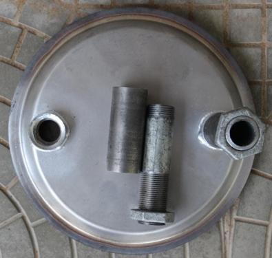 Двухконтурная печь для бани