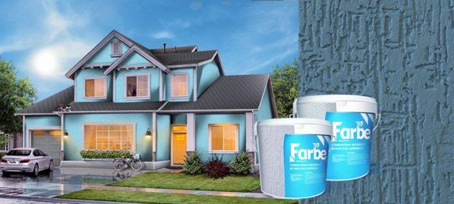 Силиконовая штукатурка Фарбе (Farbe): характеристики, отзывы
